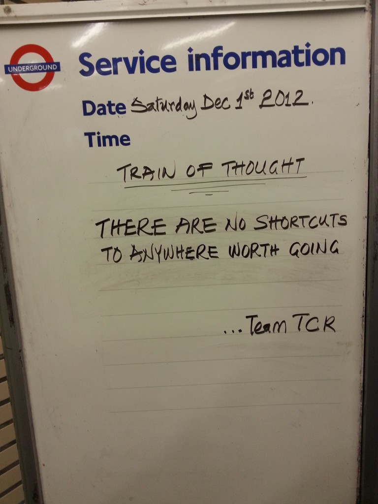 Image from London Transport notice